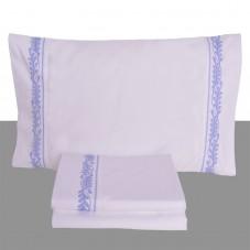 Parma - Jogo de lençóis bordado cetim