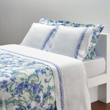 Parma - Quilted throw satin