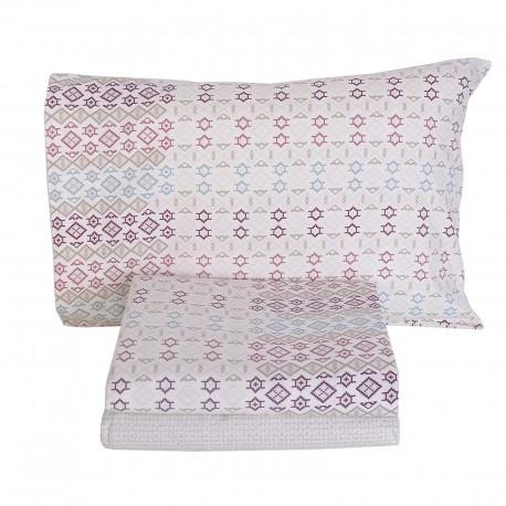 ABUJA Flannel Sheet Set 100% Cotton