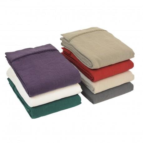 Desilinen - Top sheet linen stone wash