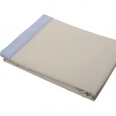 Top Sheet Deep Cotton Satin, LAMEIRINHO