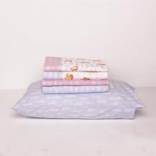 Niki bird - Jogo de lençóis flanela
