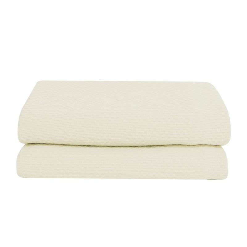 MIRA Bedspread in Cotton Jacquard