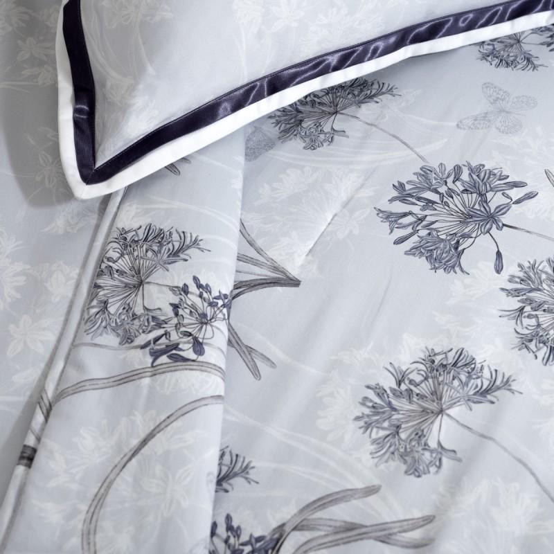 Temp Reversible Duvet Cover satin Reversible Cotton Satin, LAMEIRINHO
