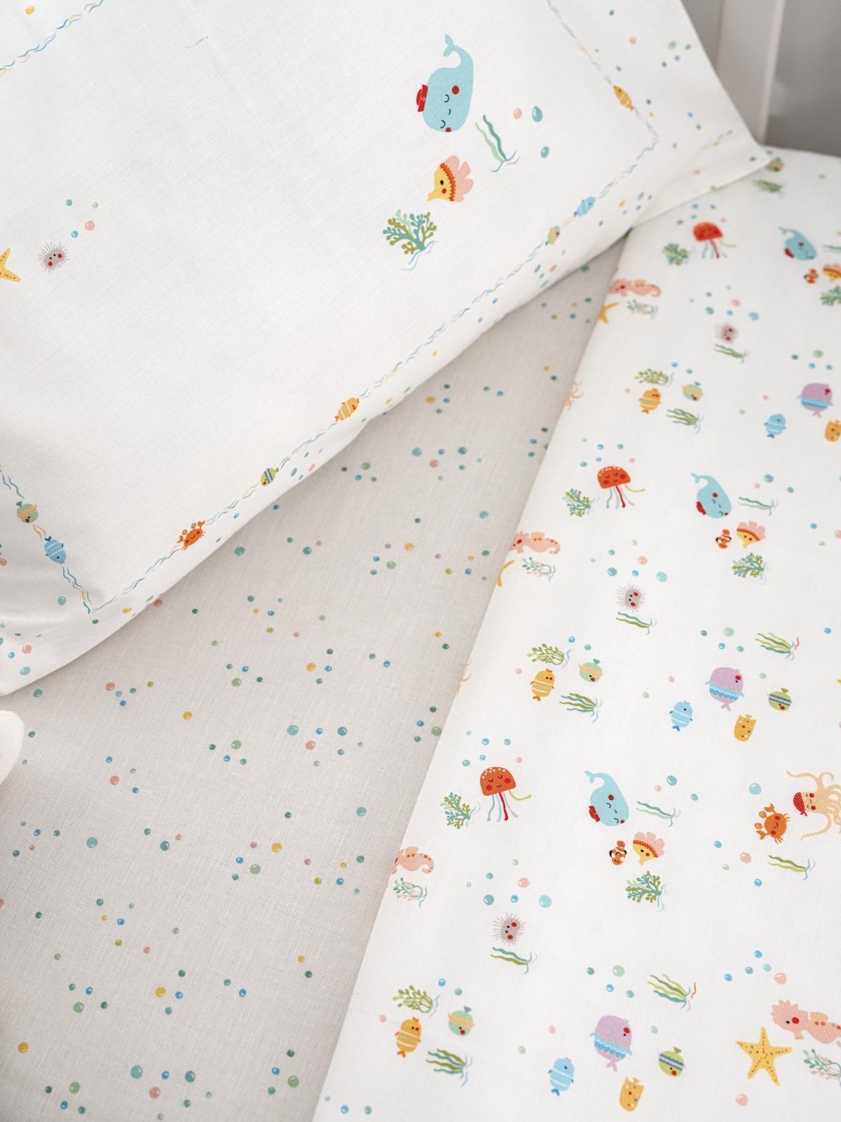 Sheet Set Aquarius Cotton, LAMEIRINHO