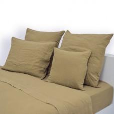 Almalinen Pillowcase 100% Stone Was Linen