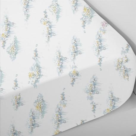 Fitted Sheet Dazzle Cotton Satin, LAMEIRINHO