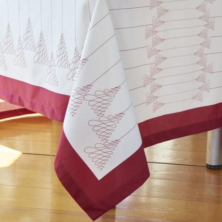 Tablecloth NATAL Cotton Satin, LAMEIRINHO