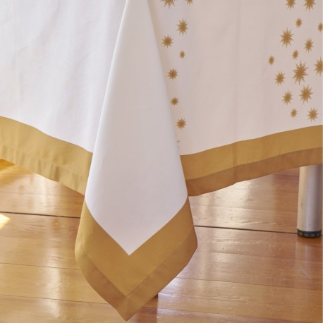 Tablecloth ESTRELA Cotton Satin, LAMEIRINHO