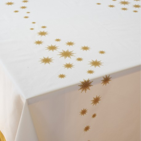 Estrela - Mantel de mesa satén