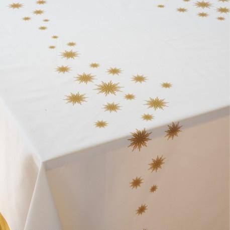 Estrela - Toalha de mesa cetim