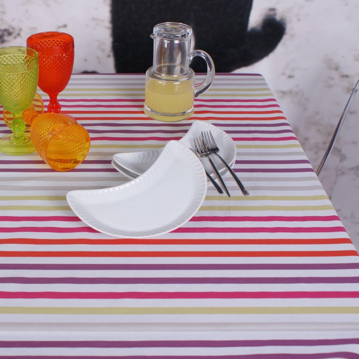 Tutti fruti - Coated tablecloth