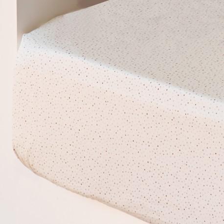 Fitted Sheet Flow Cotton Satin, LAMEIRINHO