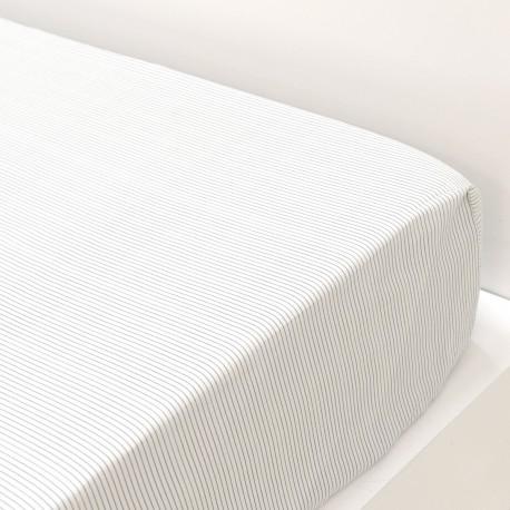 Fitted Sheet Aquarey Cotton Satin, LAMEIRINHO