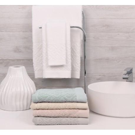 Juego de toallas de baño CLASSIC 3 Toallas Algodón, LAMEIRINHO