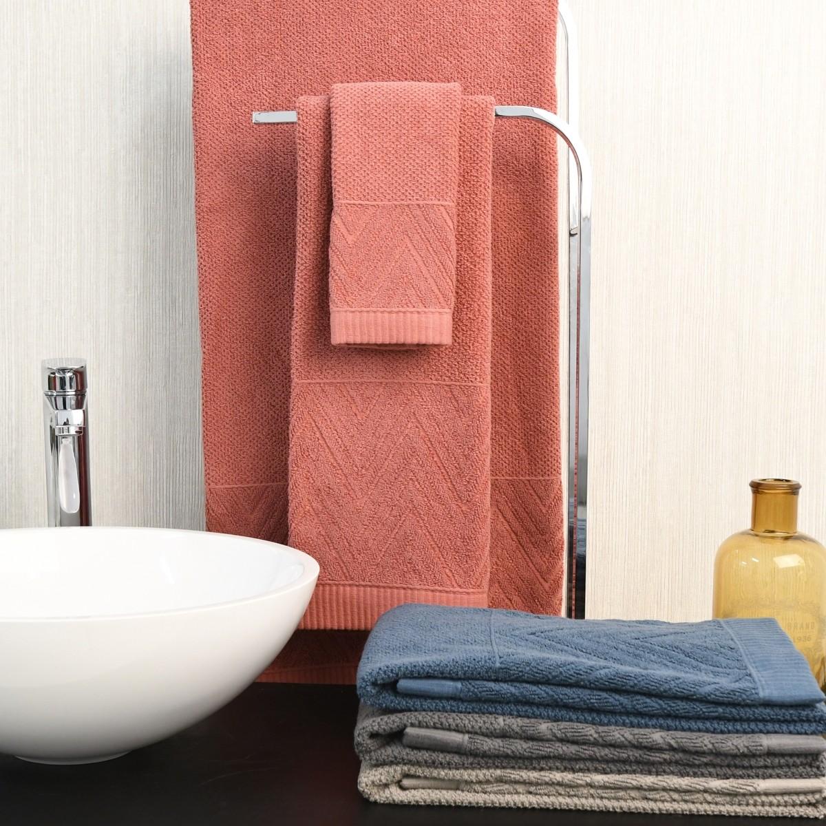 Juego de toallas de baño, Geometric