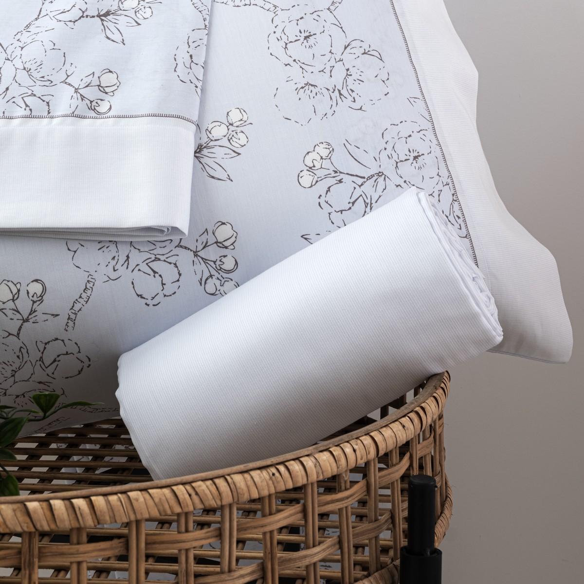 Sheet Set Amorosa Cotton Satin, LAMEIRINHO
