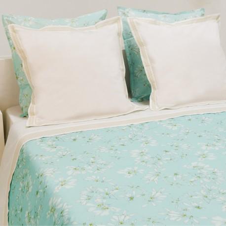 Top Sheet & Pillowcase BUCOLIC Cotton PercaleEmbroidered, LAMEIRINHO