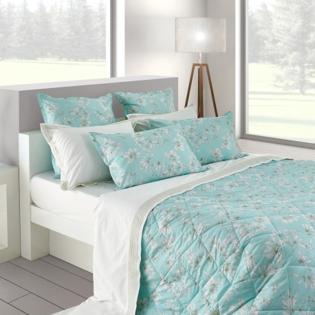 Bucolic - Embroidered sheet set percale