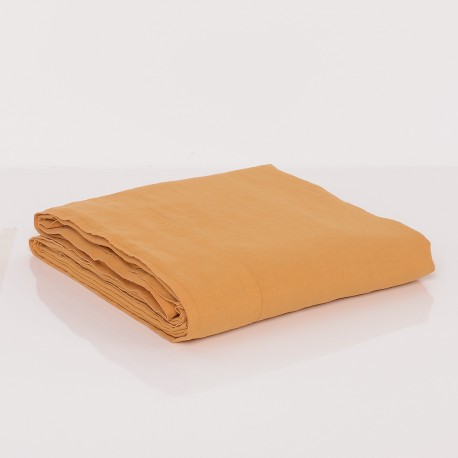 Angellinen - Fitted sheet washed linen