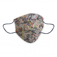 Dona Maria certified Social Mask with flowers, petals and colorful paisley design