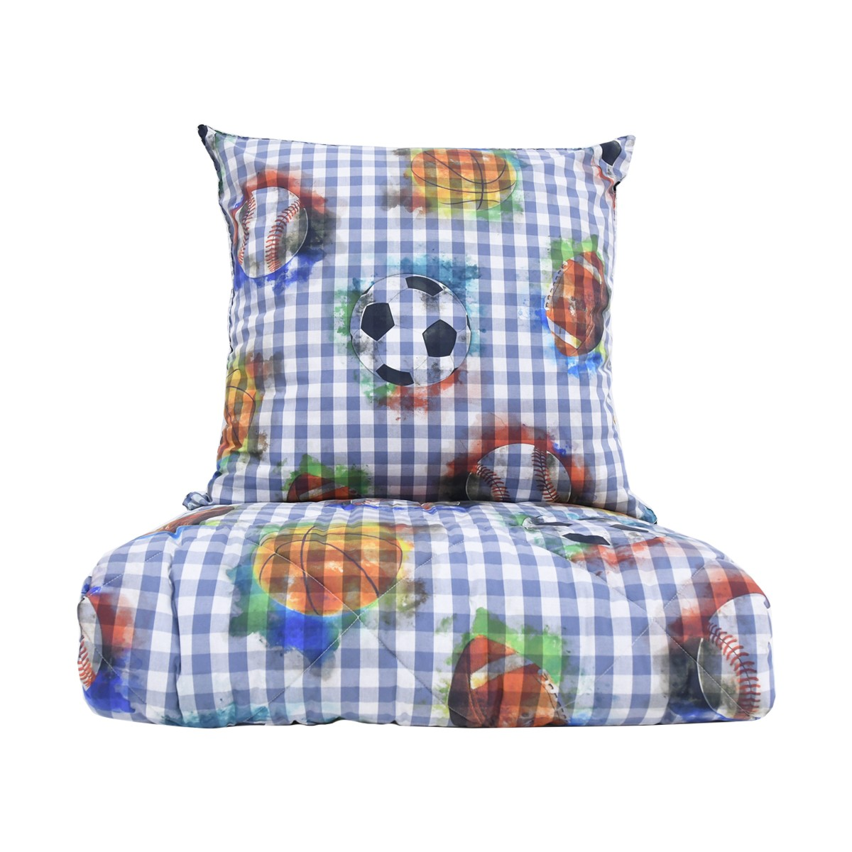 Quilted Throw Set, FOOT