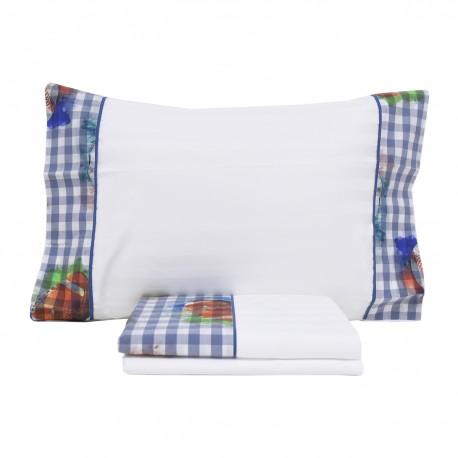 Sheet Set FOOT Cotton Satin, LAMEIRINHO