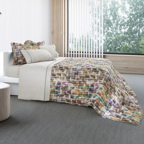 Pillowcase QUADRADIC Cotton Satin, LAMEIRINHO