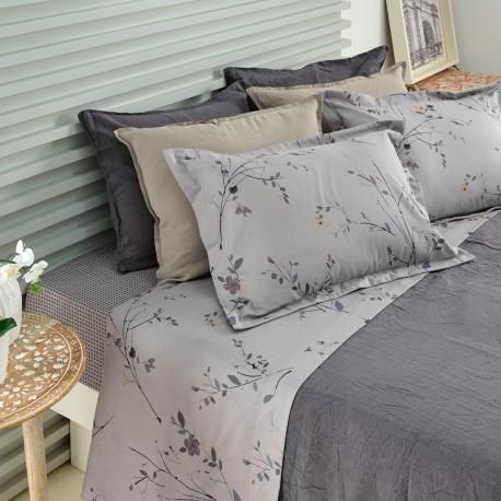 SABROSA Velvet Flannel Sheet Set Cotton