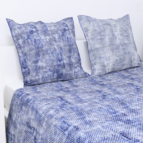 Quilted Throw Set, MIDNIGHT