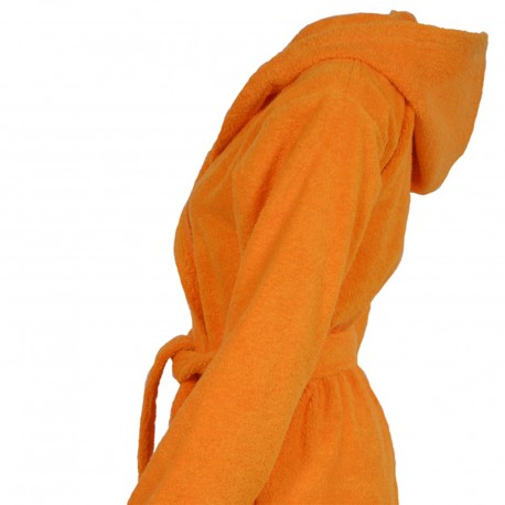 Basic - Hooded bathrobe