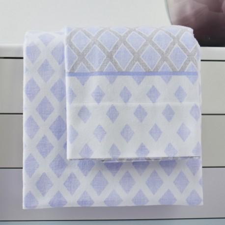 S.LUIZ Flannel Sheet Set 100% Cotton