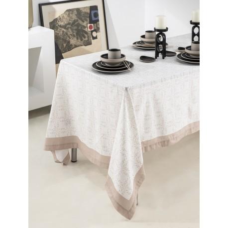 Toalha de mesa PÓRTICO Cetim de Algodão, LAMEIRINHO