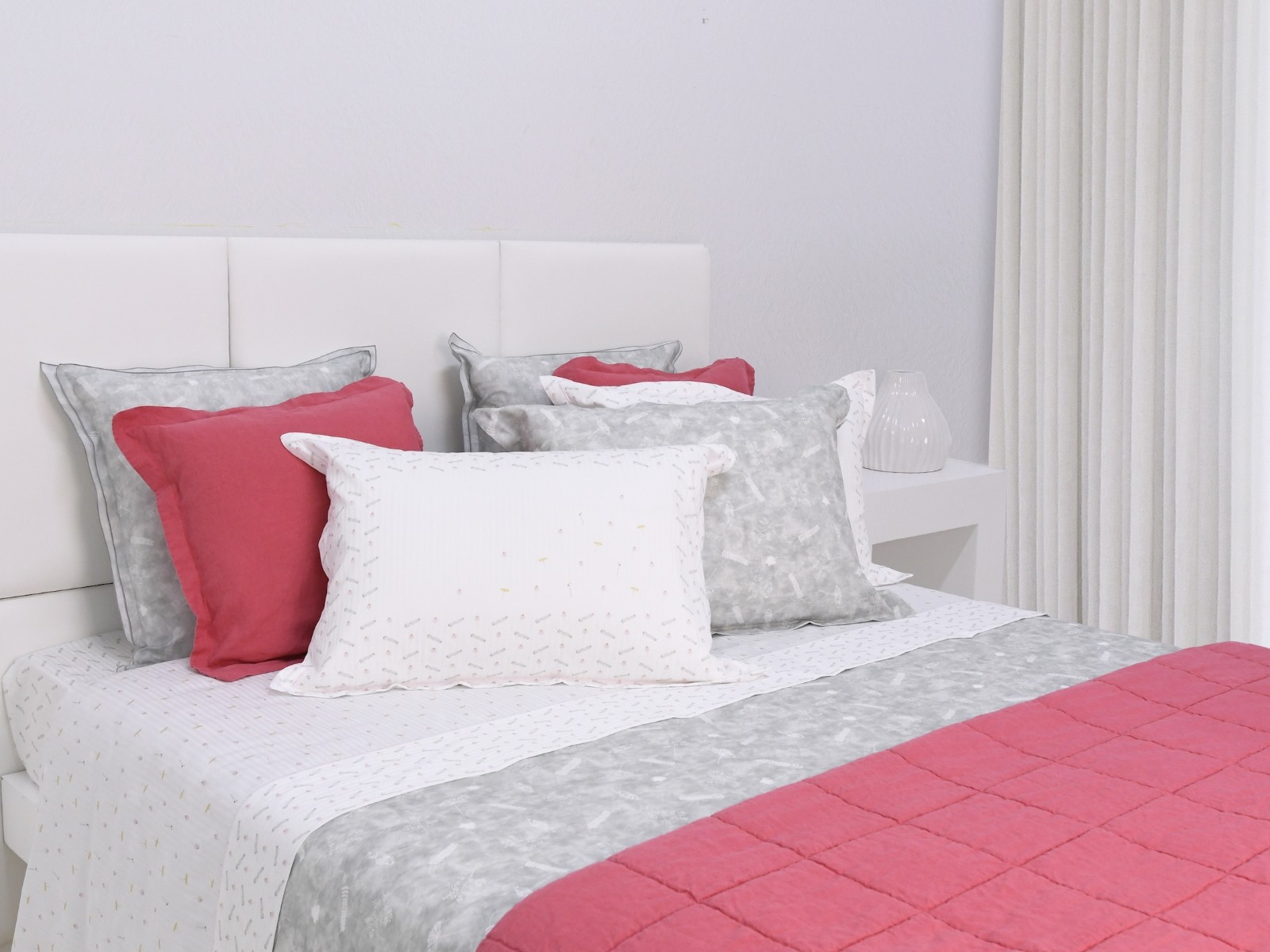 Sheet Set LOVELY Cotton Satin, LAMEIRINHO