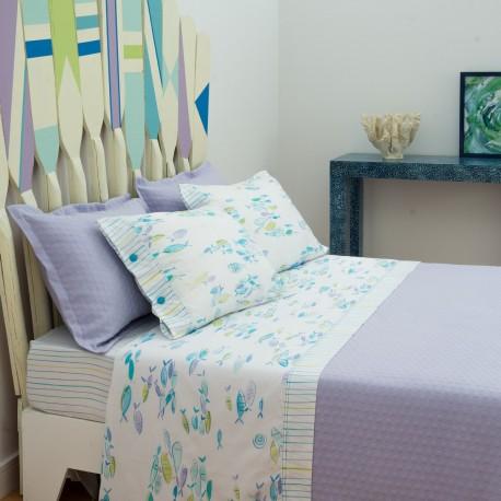 SPICA Bedspread in Cotton Jacquard