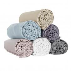 Fitted Sheet Pure Cotton Satin, LAMEIRINHO