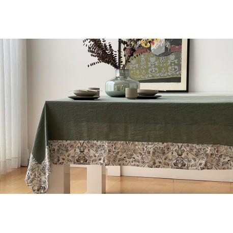 Tablecloth WOOD Linen- Cotton, LAMEIRINHO