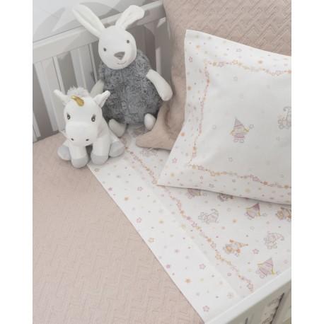 Sheet Set PIXIE Velvet Flannel Cotton, LAMEIRINHO
