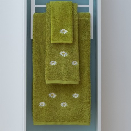 Bath Towel Set, Daisy